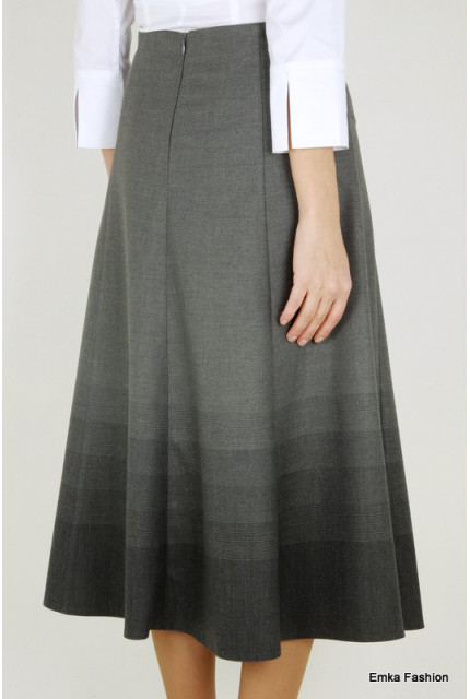 Юбка Emka Fashion 411-bermuda-gray