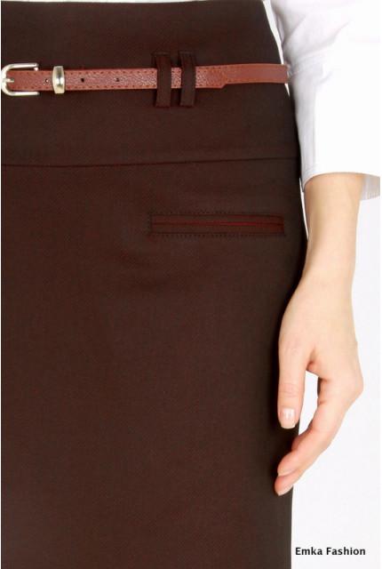 Юбка Emka Fashion 458-arabika