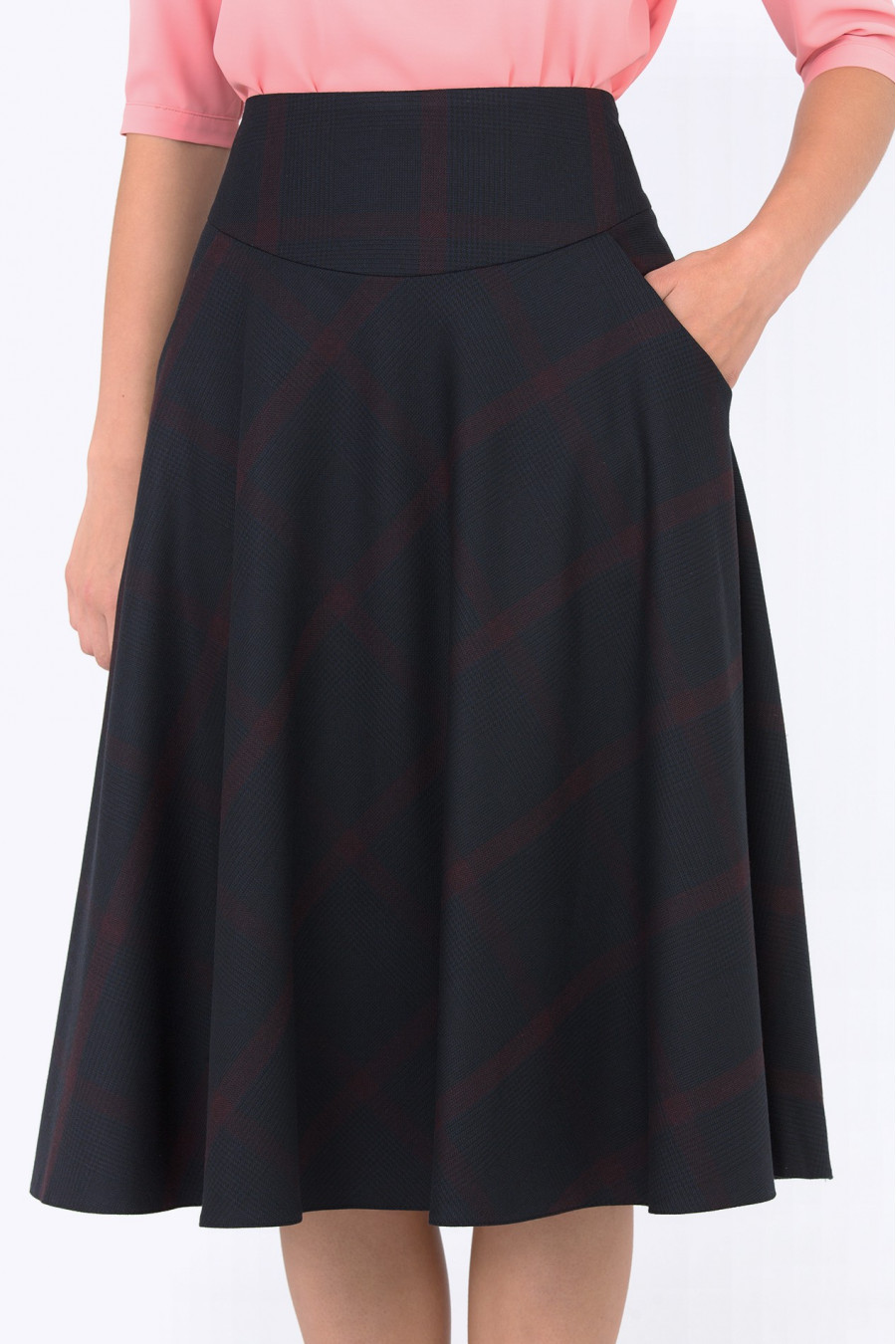 Как сделать расклешенную юбку без выкройки и практически без 96