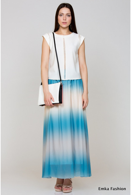 Юбка Emka Fashion 534-aprika
