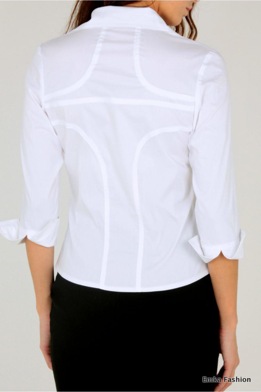 Блузка Белая Купить В Москве