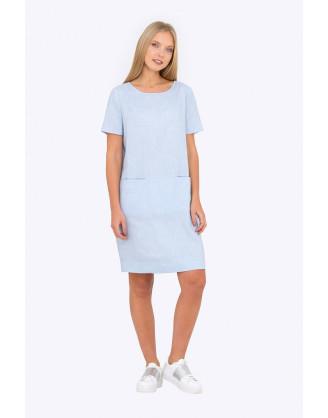 Платье Emka Fashion PL-604-marigold