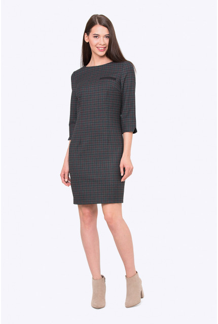 Платье Emka Fashion PL438-citronelle