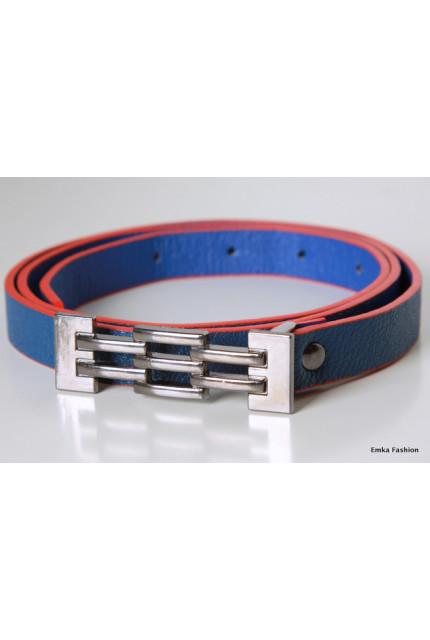 Ремень Emka Fashion R-blue-red