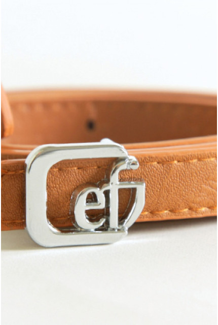 Ремень Emka Fashion R brown silver emka