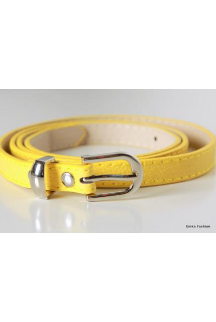 Ремень Emka Fashion R-yellow