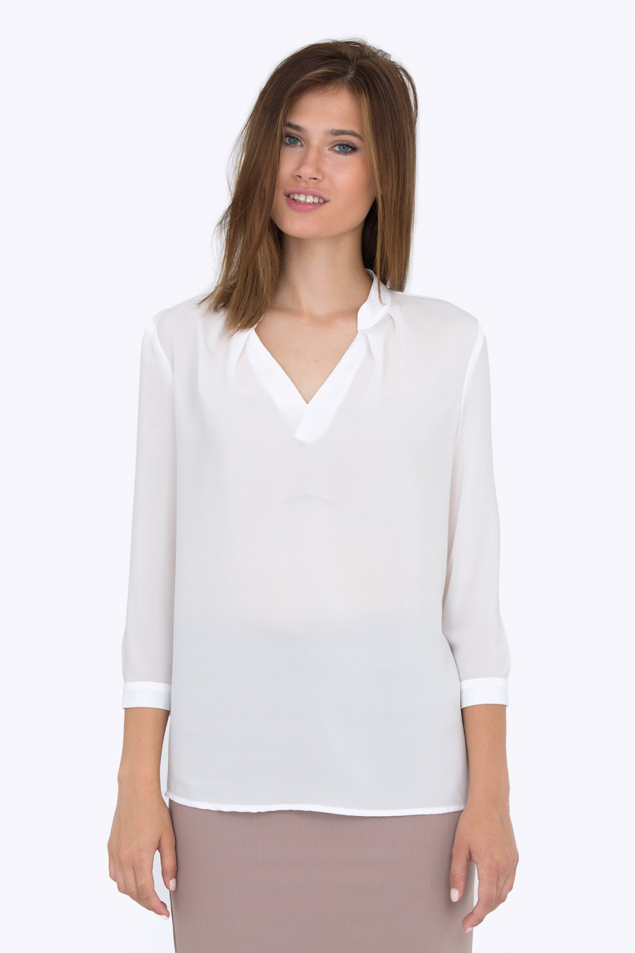 Белая Блузка 2015 С Доставкой