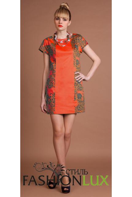 Платье Fashion Lux 001-orange