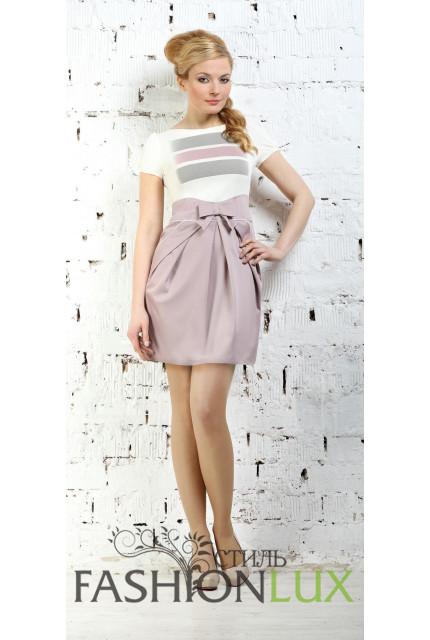 Платье Fashion Lux 463-bezh