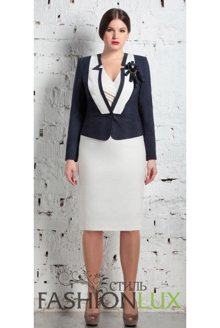 Костюм Fashion Lux 499-white