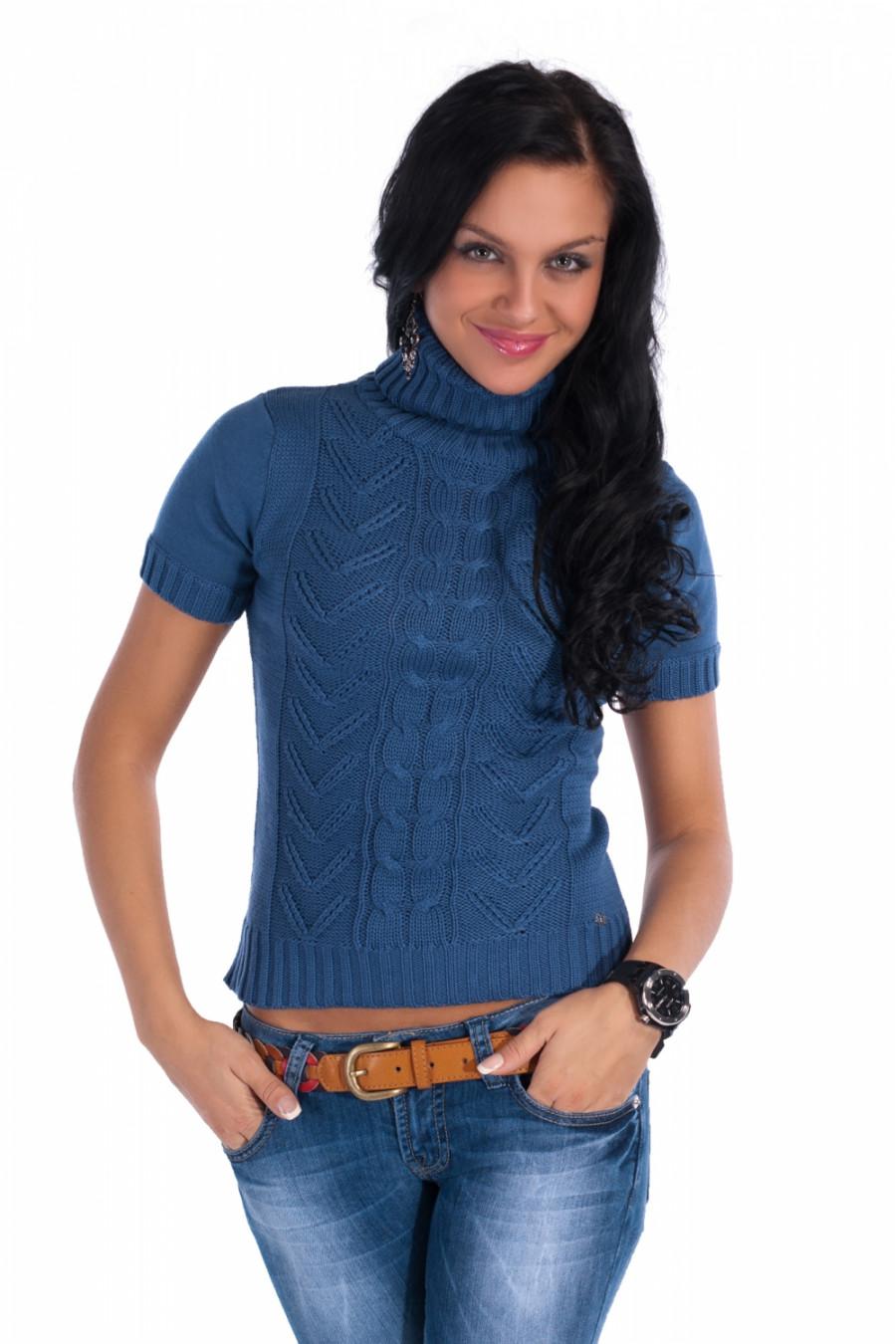 Вязаный Пуловер Для Девушки Доставка