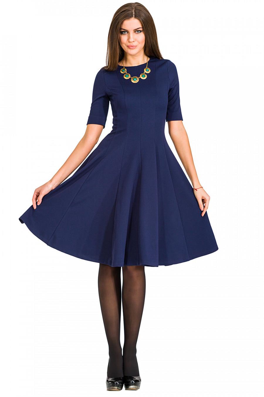 Фото платья с расклешенной юбкой