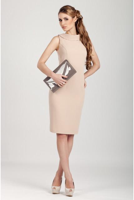 Платье O. JEN 01374-bezh