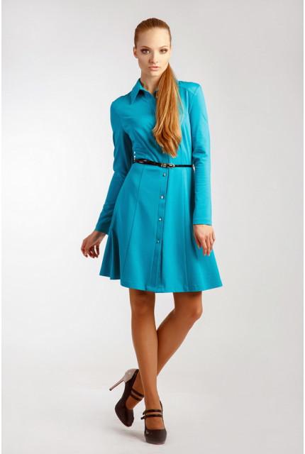 Платье O. JEN 01415-biryuza