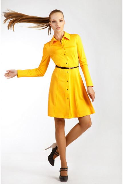 Платье O. JEN 01415-yellow