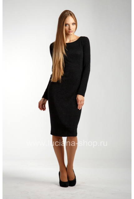 Платье O. JEN 01394-black