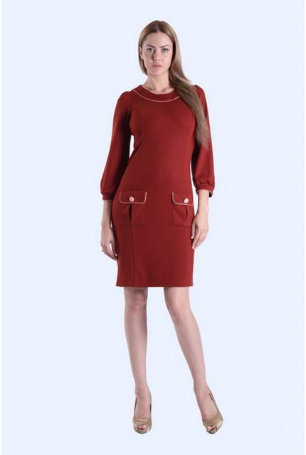 Платье O. JEN 01222-red