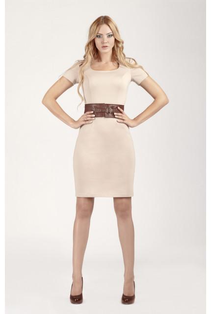 Платье O. JEN 01223-bezh