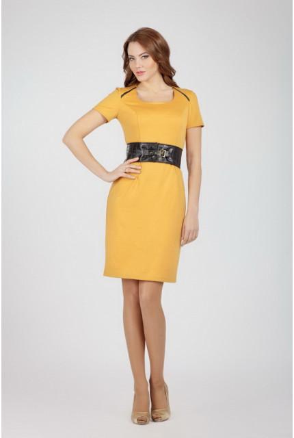 Платье O. JEN 01223-yellow
