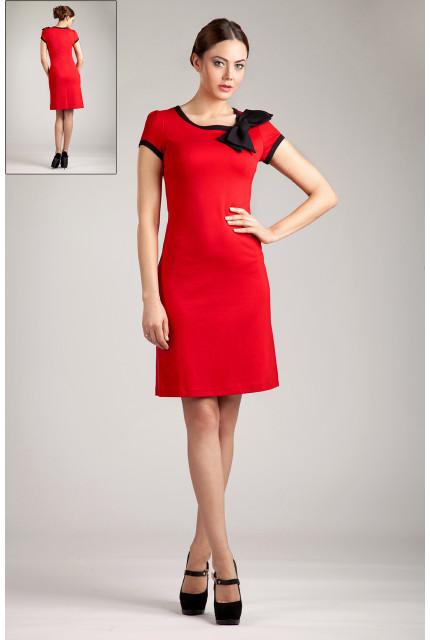 Платье O. JEN 01224-red