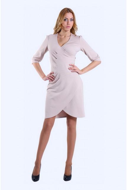Платье O. JEN 01225-bezh
