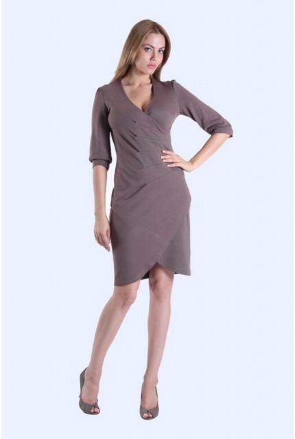 Платье O. JEN 01225-darkbeige