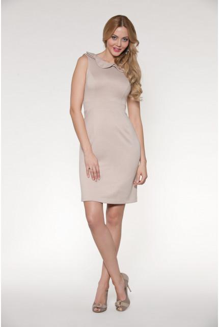 Платье O. JEN 01230-bezh
