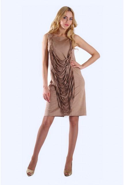 Платье O. JEN 01235-bezh