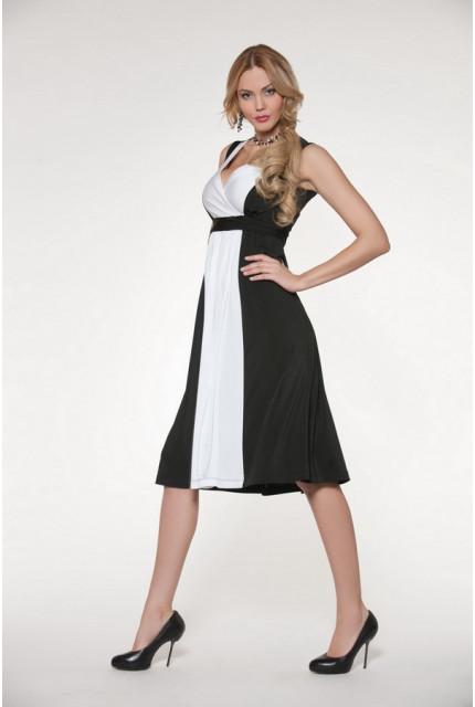 Платье O. JEN 01237-white