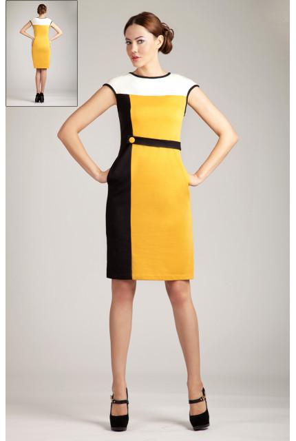 Платье O. JEN 01274-yellow