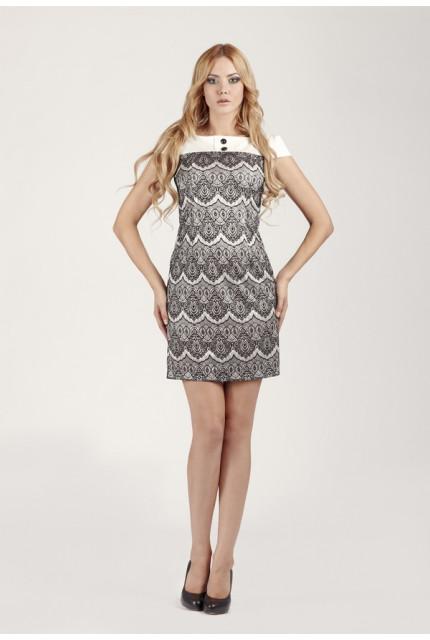 Платье O. JEN 01300-white