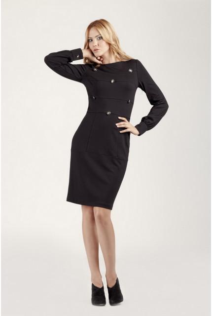 Платье O. JEN 01311-black