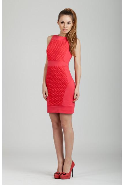 Платье O. JEN 01343-corall
