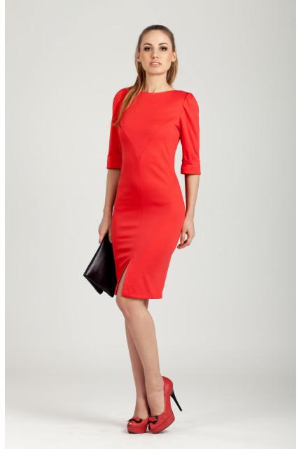 Платье O. JEN 01344-red