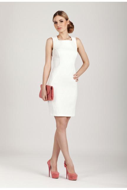 Платье O. JEN 01385-milk
