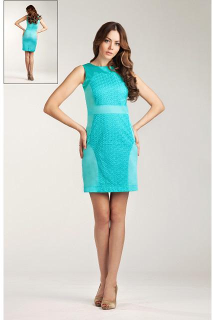Платье O. JEN 01391-biryuza