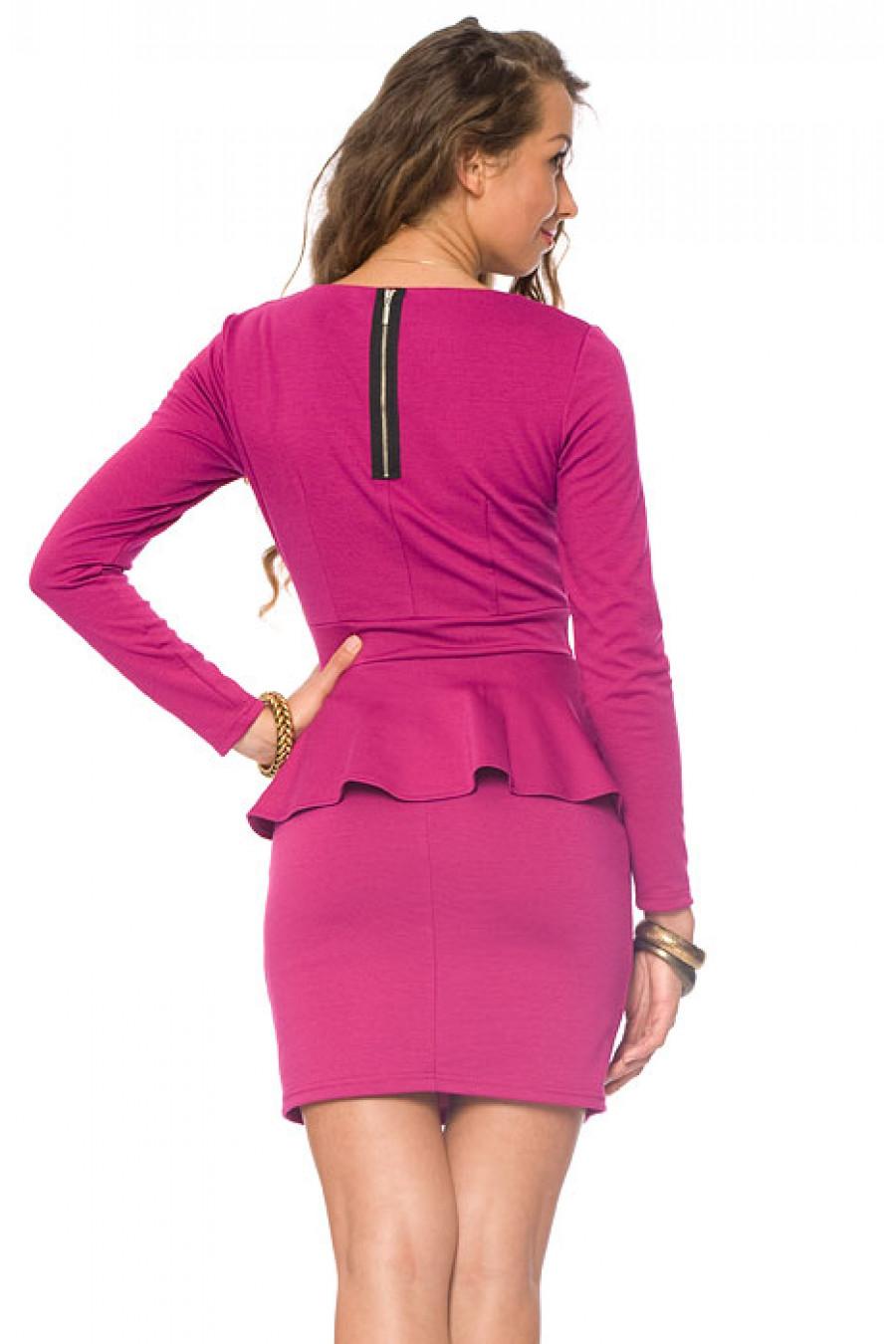 Купить Платье С Баской Спб