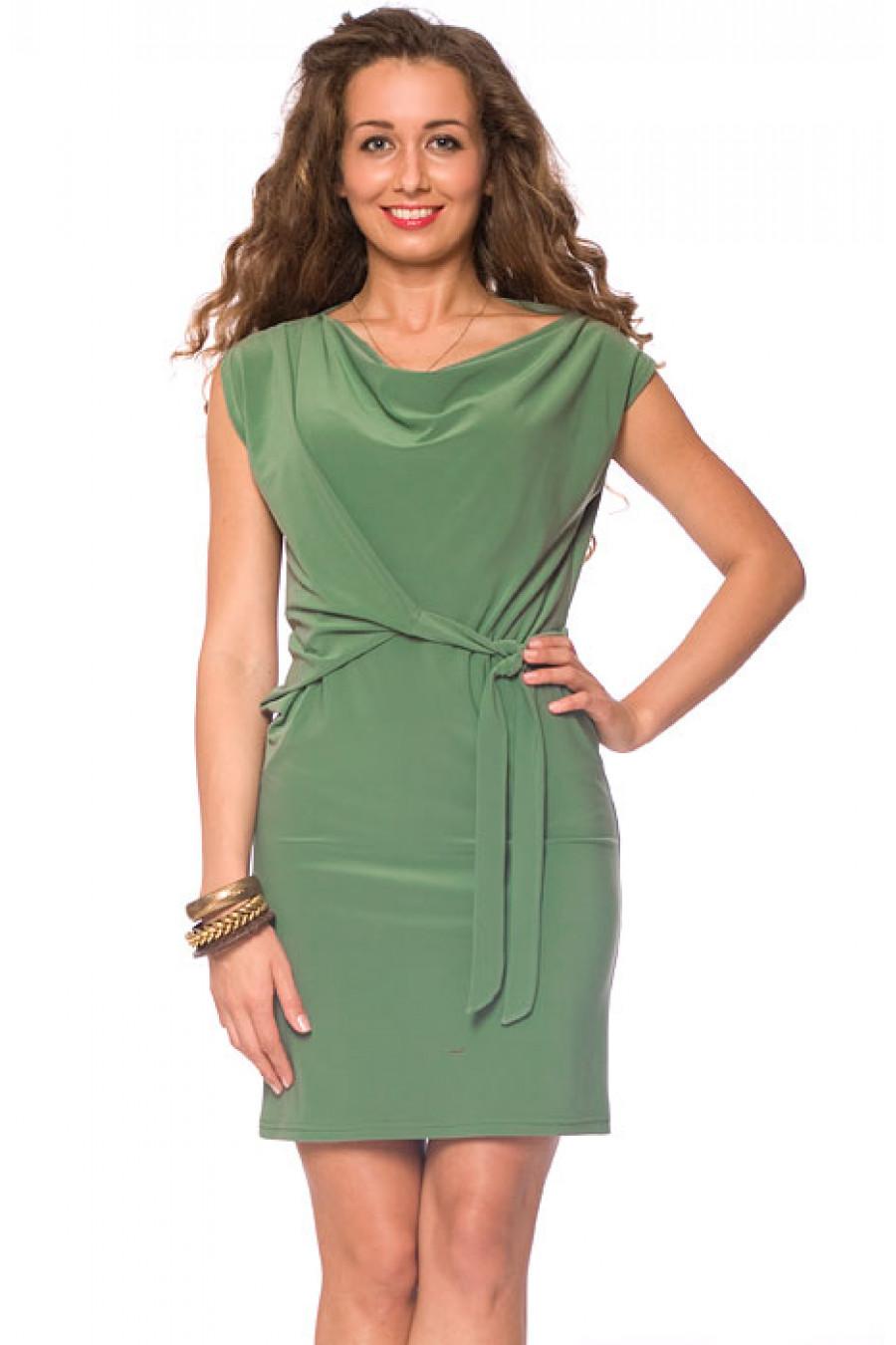 прямые платья с пышными рукавами фото