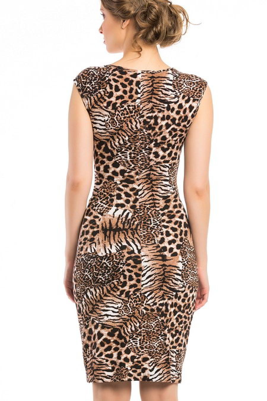 Купить Леопардовые Платья