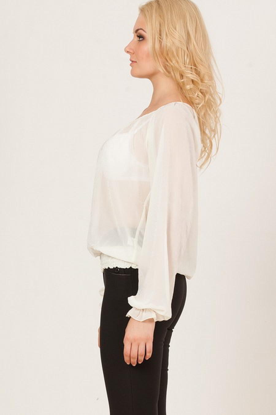 Блузка Белая Купить В Новосибирске