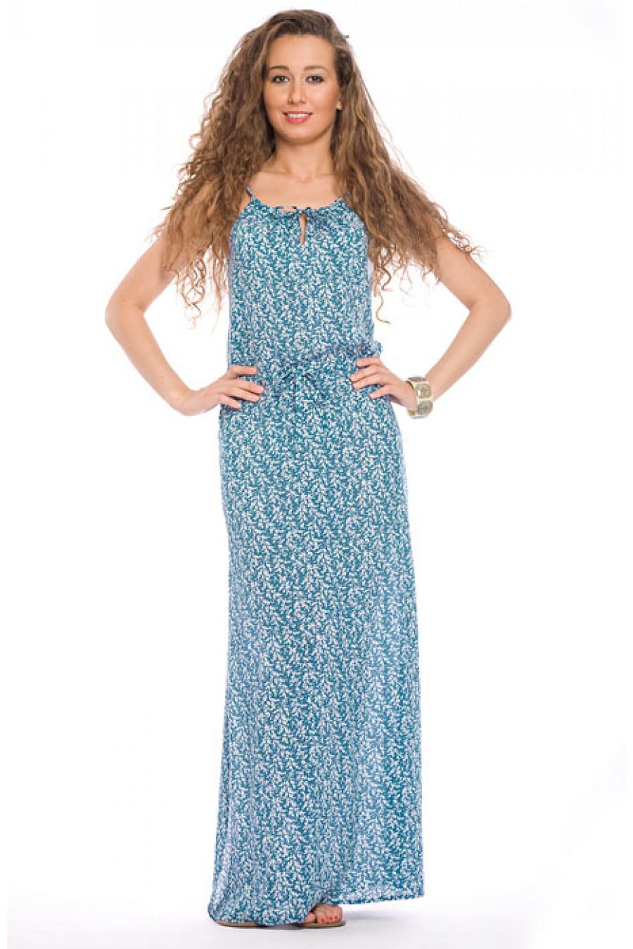 Сшить длинное летнее платье сарафан