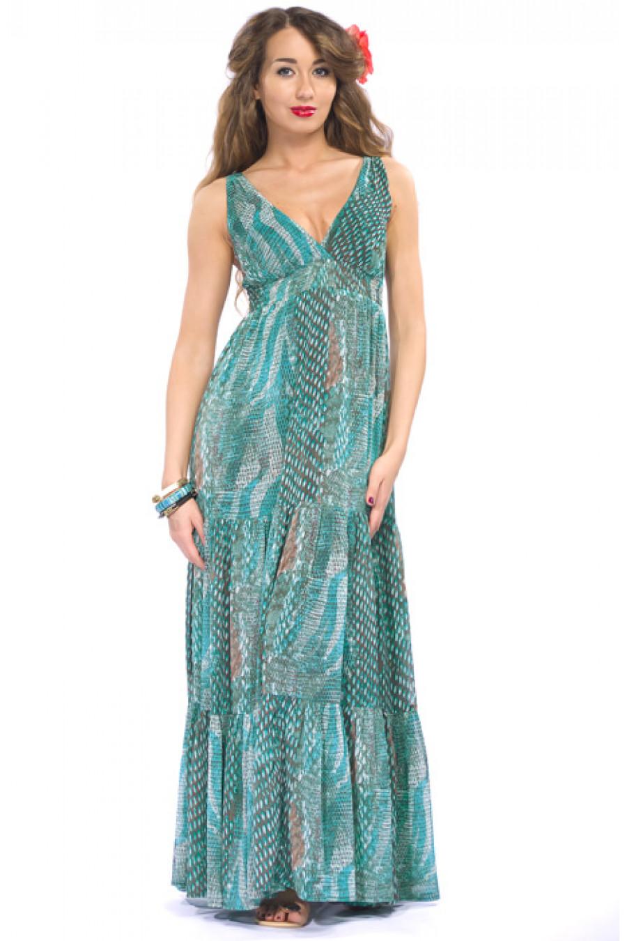 Сарафан из шифона. купить Платья Сарафан из шифона, марка: , онлайн магазин: Lady Shopping, цена: 2700