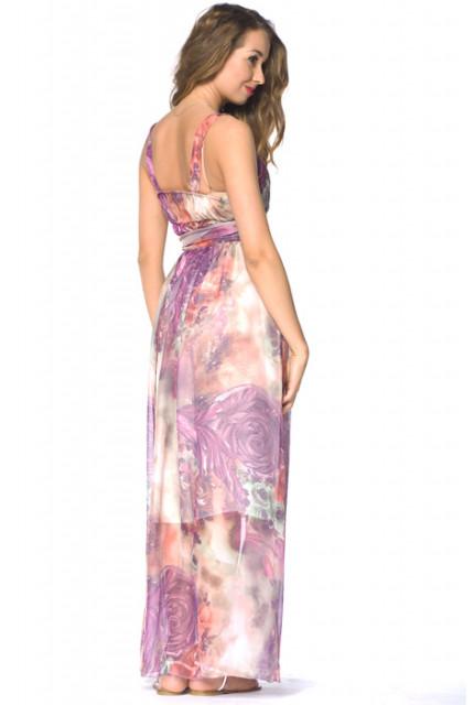 Длинный сарафан из шифона, наиболее актуальный в этом сезоне, - незаменимая вещь для гардероба любой девушки