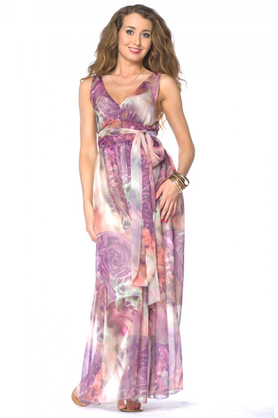 свадебные платья в пол, гипюровое стрейч свадебное или вечернее платье и... Описание: b Длинный сарафан из шифона с